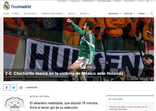 Foto: Página del Real Madrid
