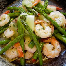 Asparagus, Prawn and Dill Salad