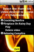 Screenshot of Fireplace and Campfires FREE
