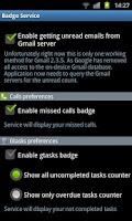 Screenshot of Badge Service