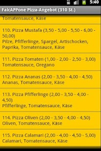 FalcAPPone, Pizza für Neustadt - screenshot