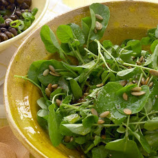 Watercress and Pepita Salad