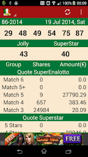 Lastest Italian Lotto Result Checker APK for PC