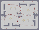 Thumbnail of the map 'Straight Curve'