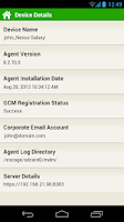 Screenshot of ManageEngine MDM - Samsung v1