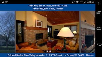 Screenshot of CBRV Mobile