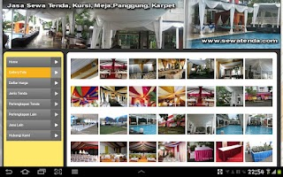 Screenshot of Sewa Tenda - Rental Tenda