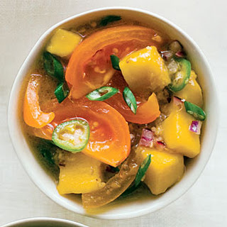 Fire and Fruit Yellow Tomato Salsa