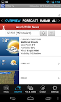 Screenshot of WISN 12 News and Weather