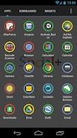 Screenshot of Social+ Theme 4 Apex Launcher