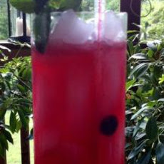 Blueberry Mint Madness Mojito