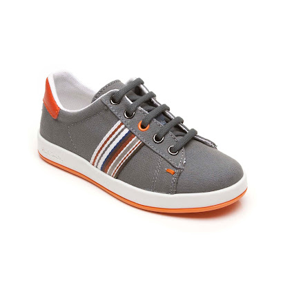 Paul Smith Branded Stripe Trainer VELCRO