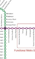 Screenshot of Bangalore Metro Navigator