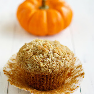 Pumpkin Muffins with Streusel Topping.