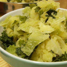 Irish Vegetarian Colcannon