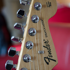 Fender by Cory Bohnenkamp - Artistic Objects Musical Instruments ( music, musical instrument, fender, weapon, play, strings, guitar, bridge )