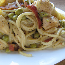 Creamy Chicken Carbonara