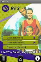 Screenshot of Life 97.3 Minnesota&Wisconsin