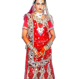 Indian Bride by Sanjeev Goyal - Wedding Bride ( rashmi, red, avtar, shalabh, shafina )