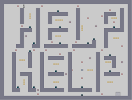 Thumbnail of the map 'HELP comes to those who least seek it'