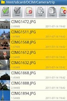 Screenshot of File Manager