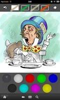 Screenshot of Alice - a coloring book