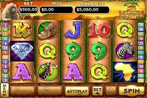 Screenshot of Kalahari Sun Slots
