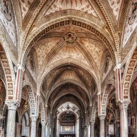 Santa Maria delle Grazie by Andrea Conti - Buildings & Architecture Places of Worship ( arcades, milan, interior, santa maria delle grazie, italia, church, milano, worship, italy )
