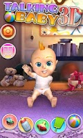 Screenshot of My Talking Baby Care 3D