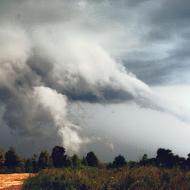 Storm by Shannon Parsons  - News & Events Weather & Storms ( thunderstorms, clouds, dark, weather, storm )