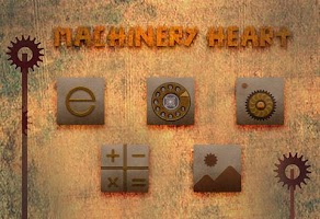 Screenshot of Machinery Heart Theme