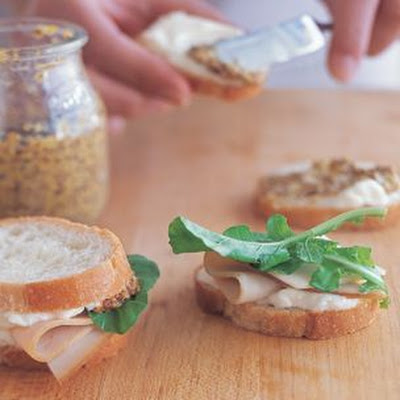 Turkey and Manchego Sandwiches