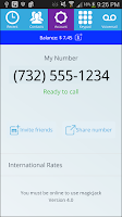 Screenshot of magicApp: Free Calls