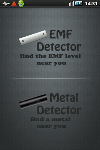EMF Detector Metal Detector