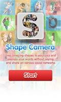 Screenshot of Shape Camera