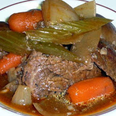 Nana's Crock Pot Pot Roast