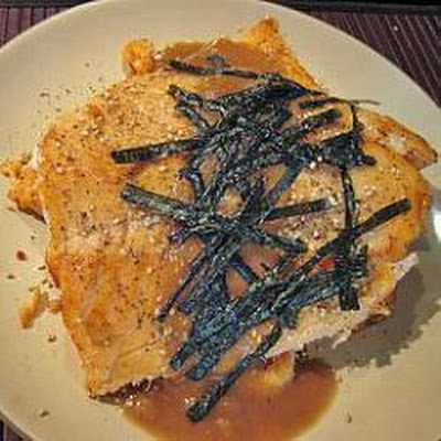 Pan Fried Salmon in Miso Sauce