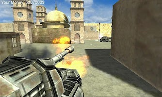 Screenshot of Tanks Online