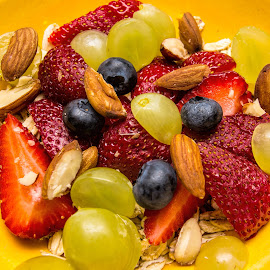 healthy by Vibeke Friis - Food & Drink Fruits & Vegetables ( breakfast, colourful fruit,  )