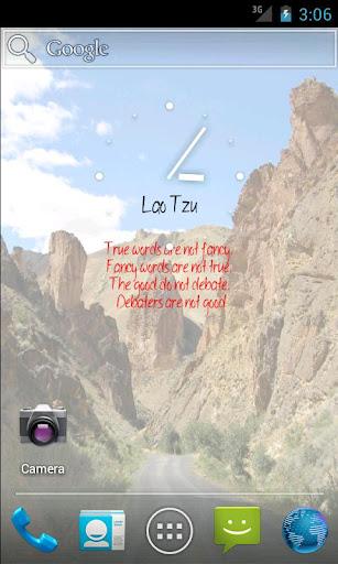 【免費個人化App】Lao Tzu Live Wallpaper-APP點子