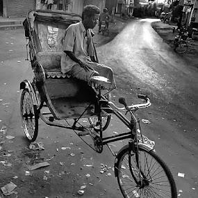 by Tarunabha Dey - City,  Street & Park  Street Scenes (  )