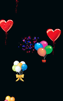 Screenshot of Fireworks Baby Balloon Pop