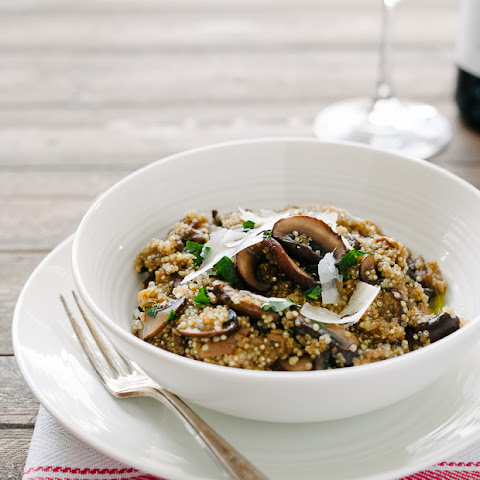Mushroom Risotto With Quinoa Recipes | Yummly