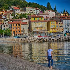 Moscenicka Draga-Croatia by Kristijan Pernar - City,  Street & Park  Vistas (  )
