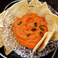 White Bean Roasted Red Pepper Dip