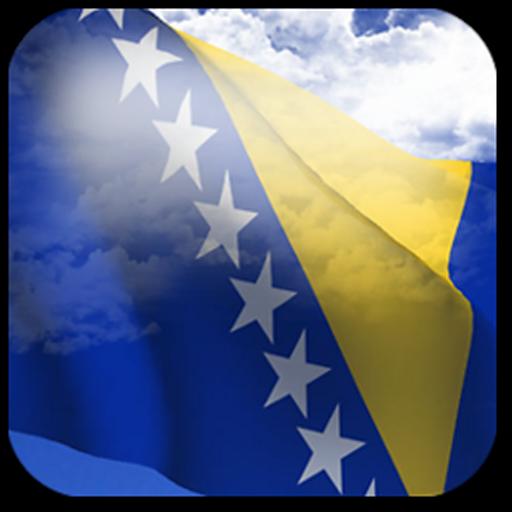Android aplikacija 3D Bosnia Flag na Android Srbija