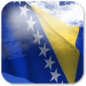 3D Bosnia Flag + icon