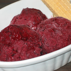 Blackberry & Coconut Nectar Sorbet...Himalayan Style