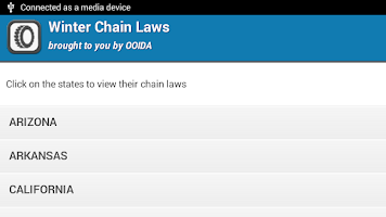 Screenshot of Winter Chain Laws