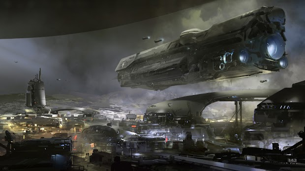 343 Industries drops an image teasing the new Halo